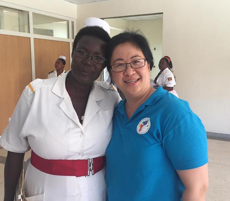 Chin Swain – Midwifery in Uganda & El Salvador partnerships