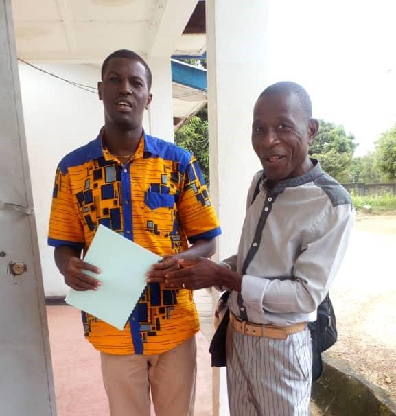 Patrick Lebbie – Stroke in Sierra Leone