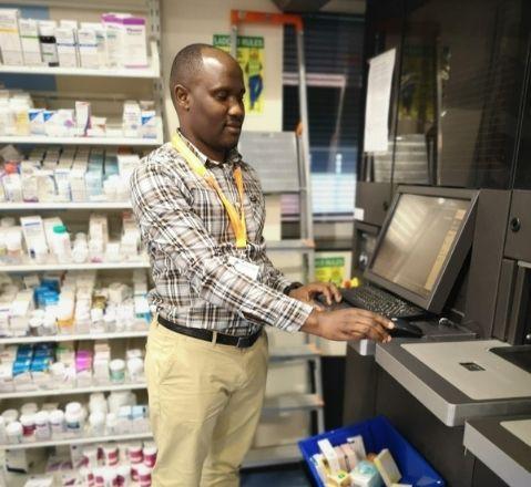 Ronald Onegwa – Pharmacy in Kampala